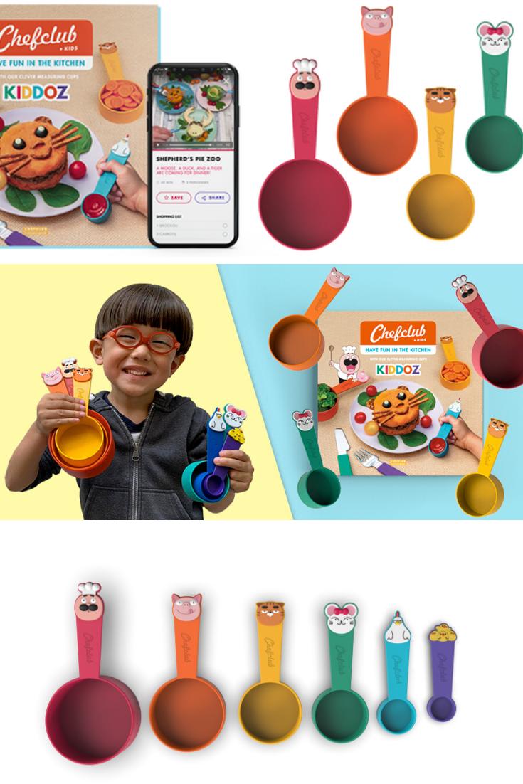 Kiddoz Cooking Kit for Kids Kickstarter #kids #CookWithKiddoz #Kiddoz #Chefclub