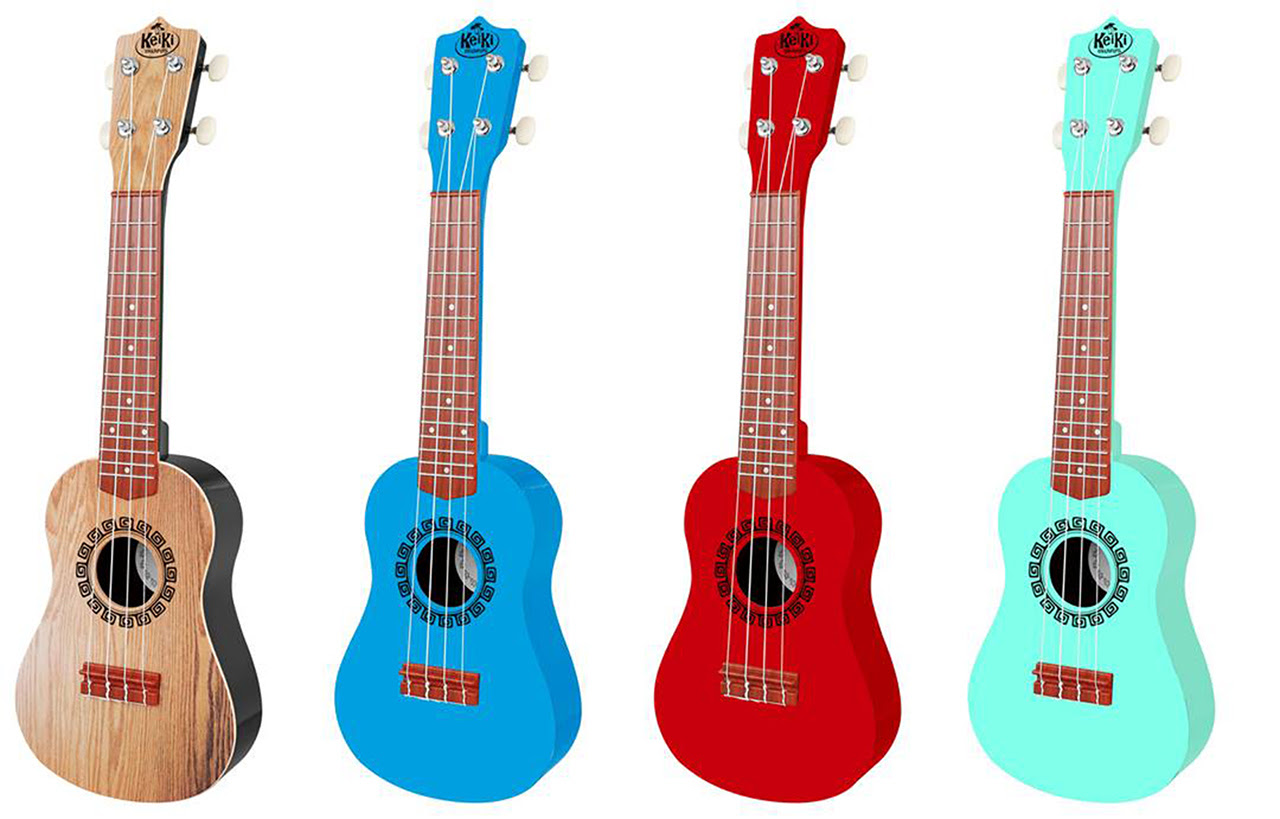 Musically Inclined Kids Love KeiKi Ukuleles