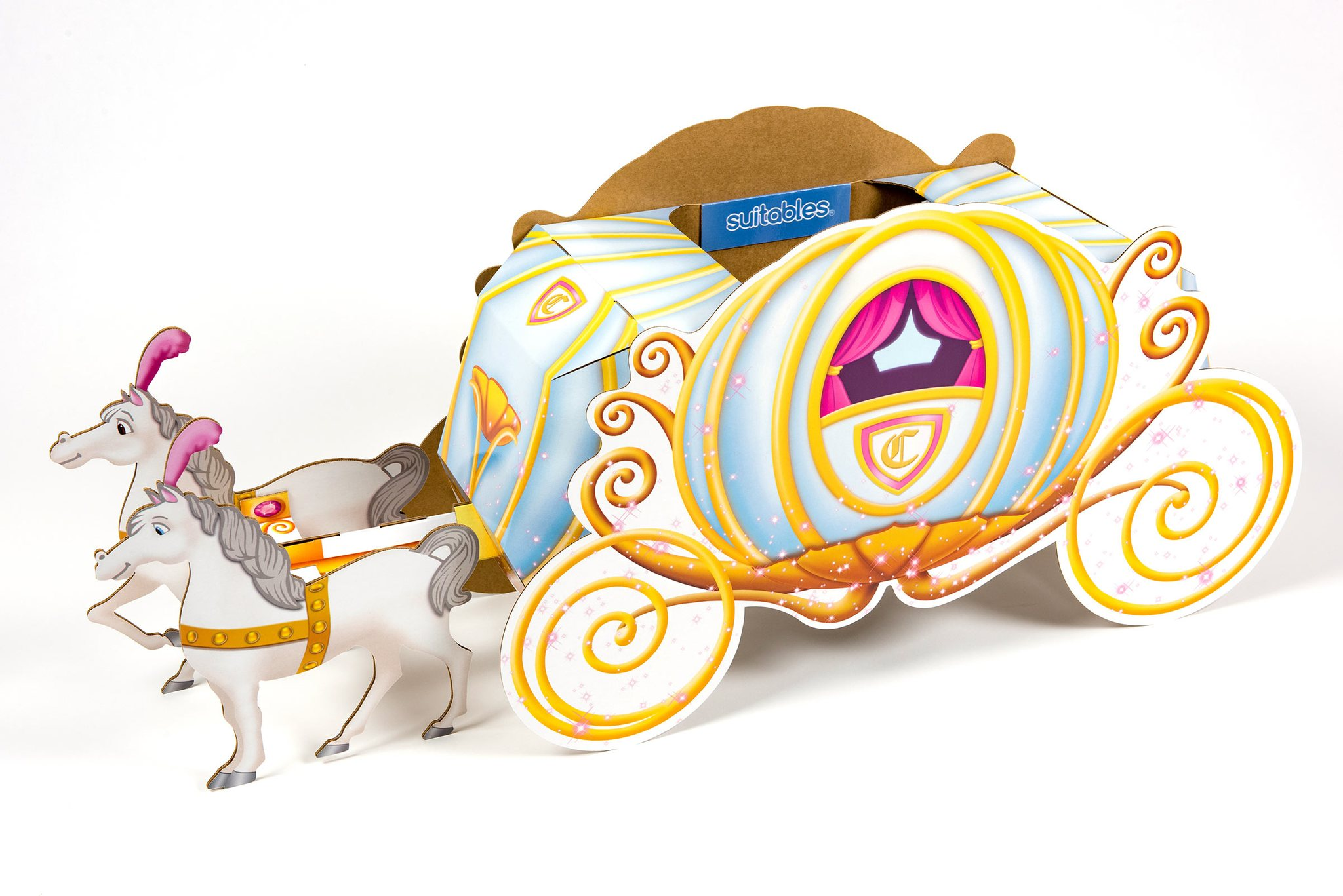 Cinderella Coach Suitable Gift For Kids