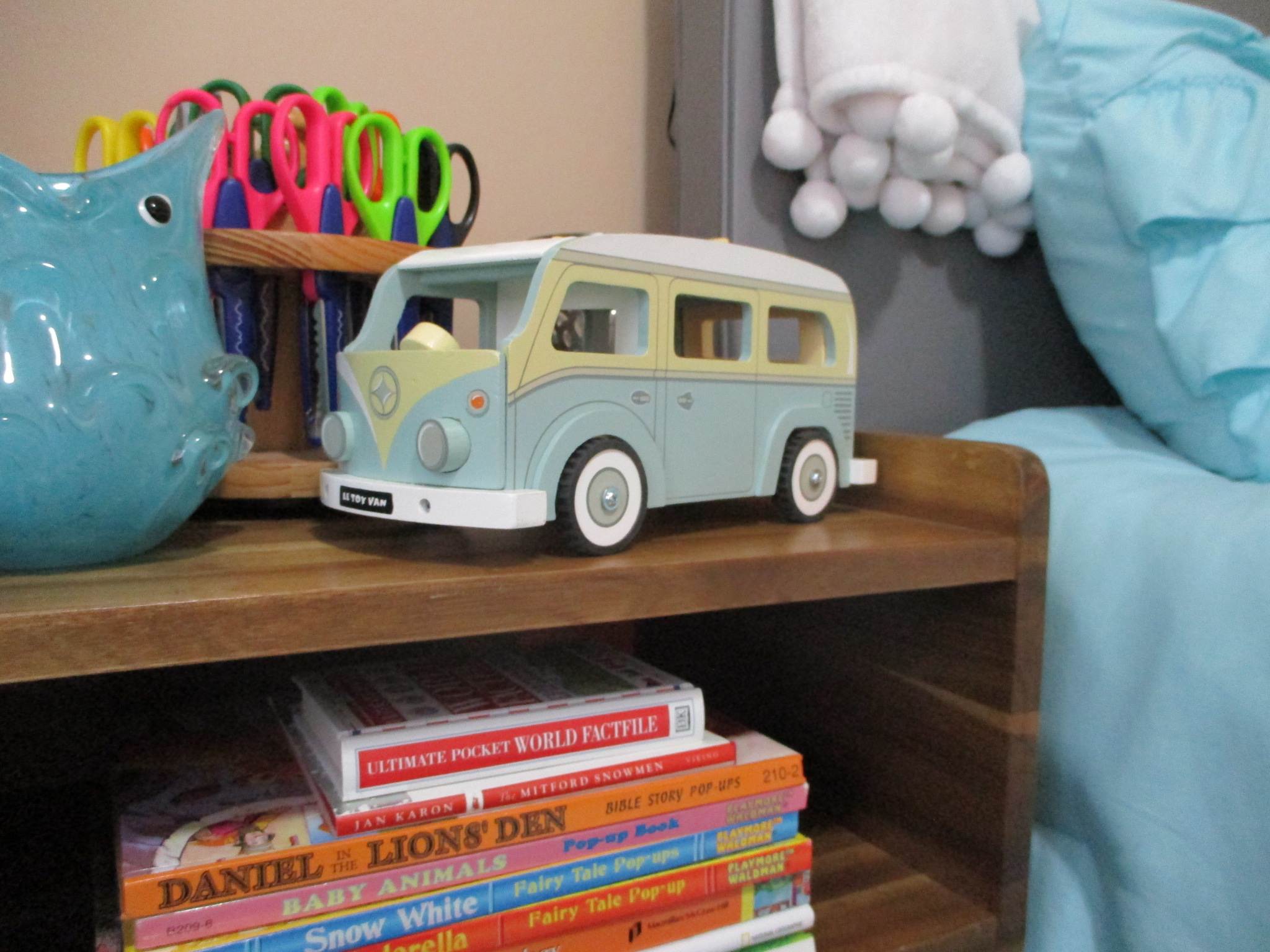 Vintage Toys for Kids Holiday Campervan
