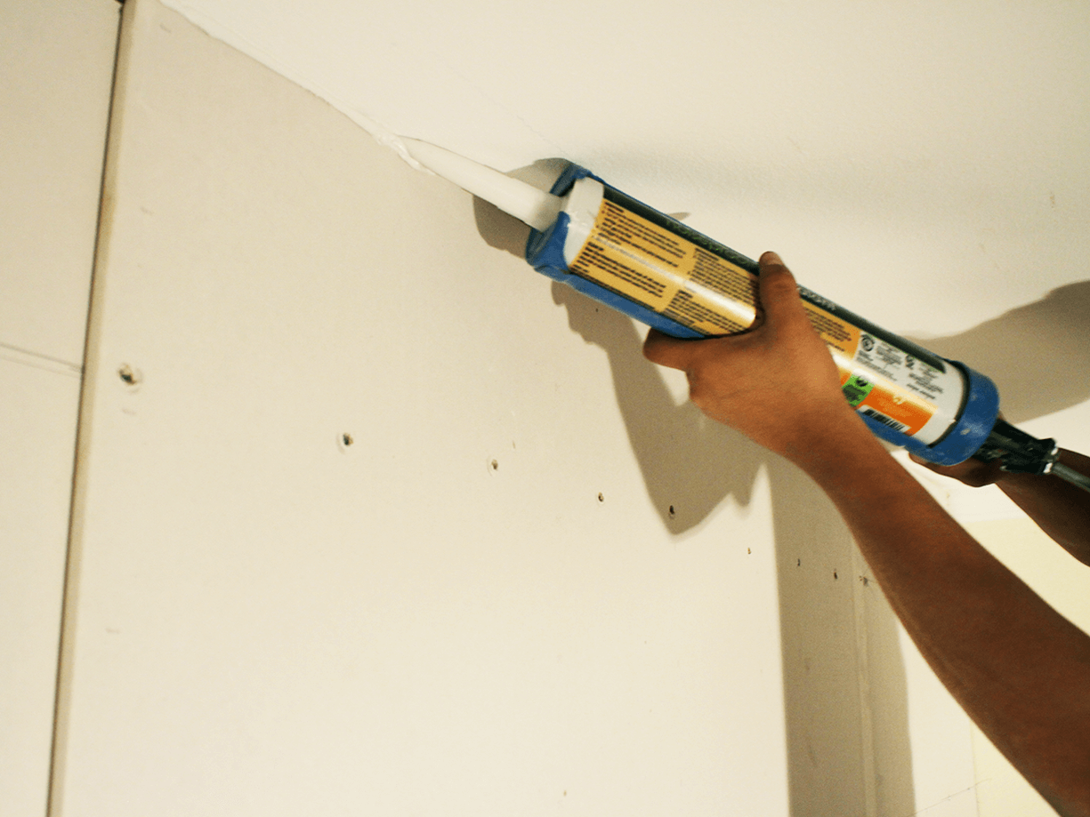 Soundproof Tips: Use Acoustic Caulk Sealant For Home Sound-Deadening