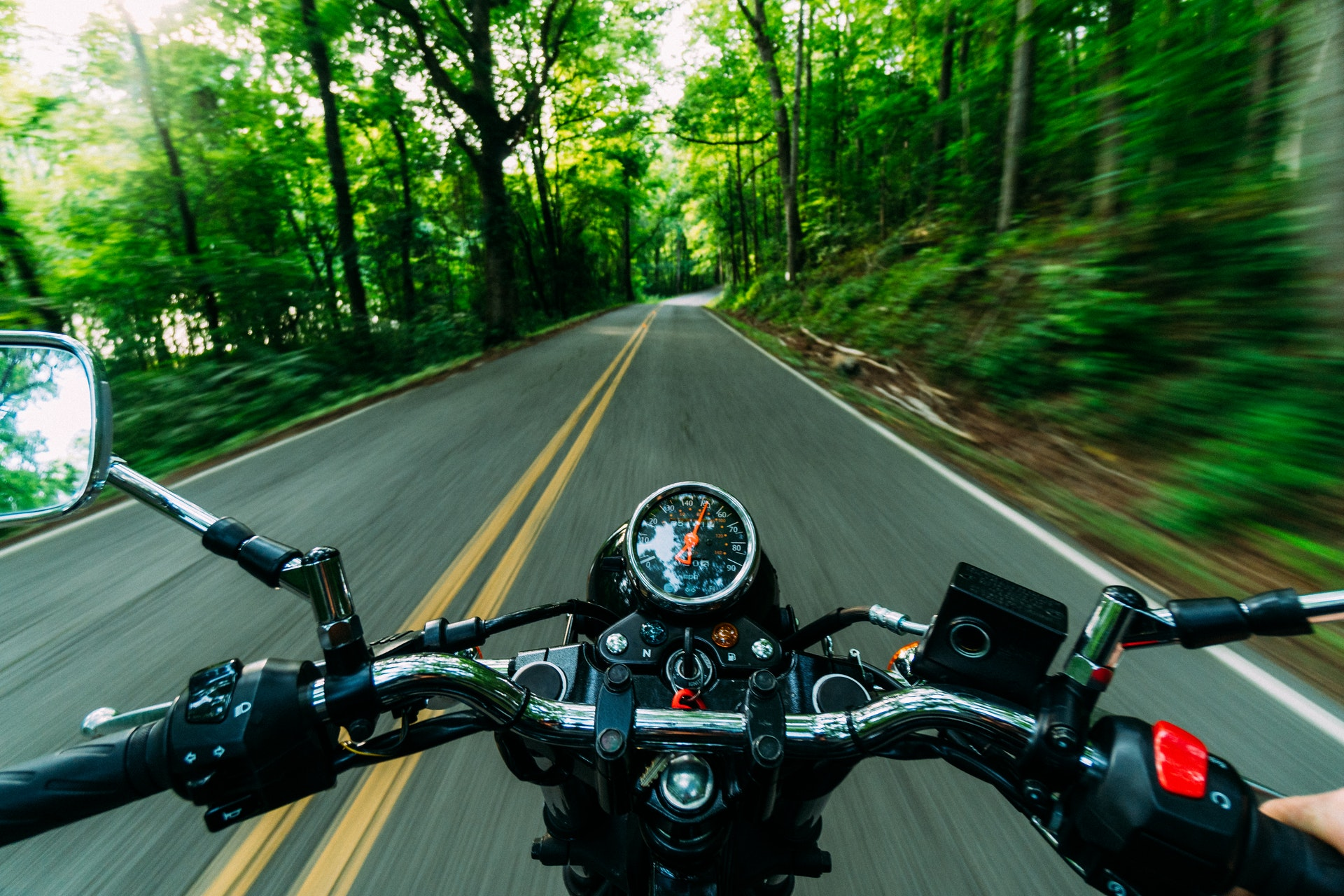 What steps can you take after being involved in a motorcycle accident