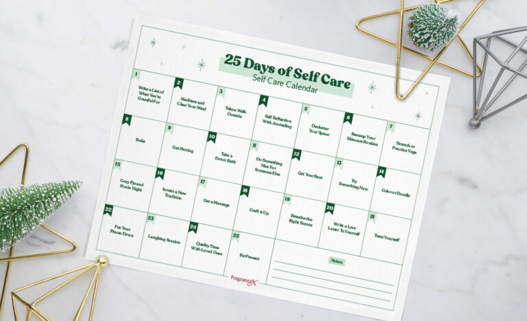 25 Days of Self-Care To Treat Yourself During The Holidays