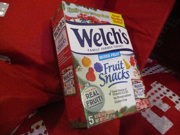 Welch's Christmas Shapes Stocking Stuffers