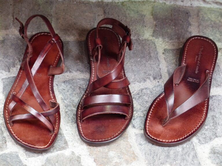 This Is How to Clean Leather Sandals the Right Way