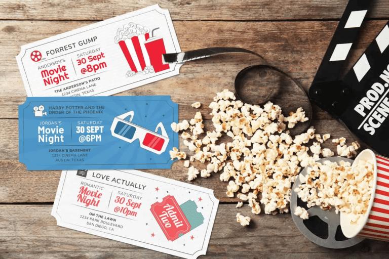 5 Family Movie Night Ideas