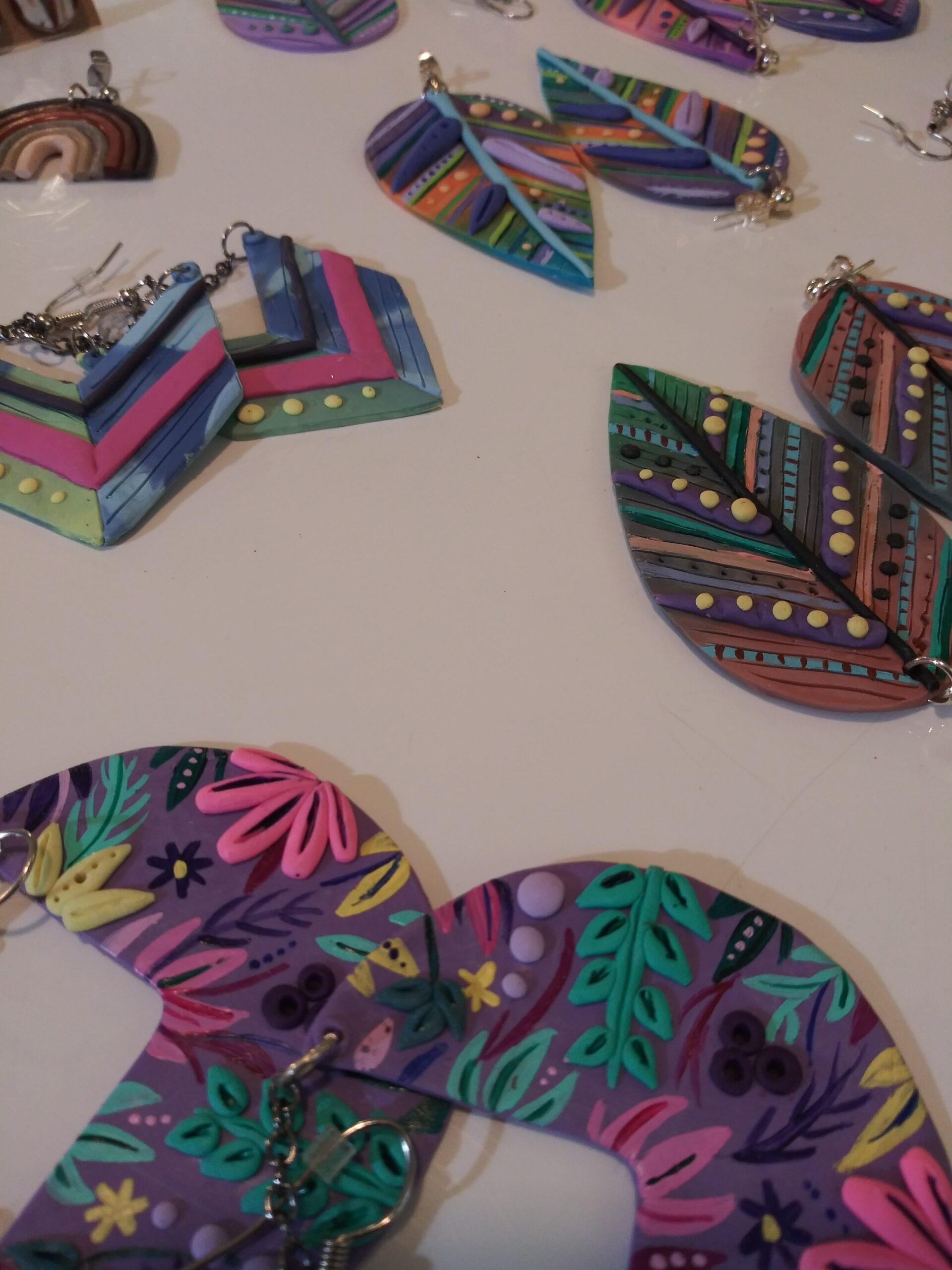 Latest Fad Polymer Clay Jewelry Earrings