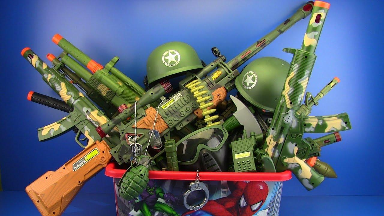 Where and Why To Buy High Quality Army Toys For Sale?