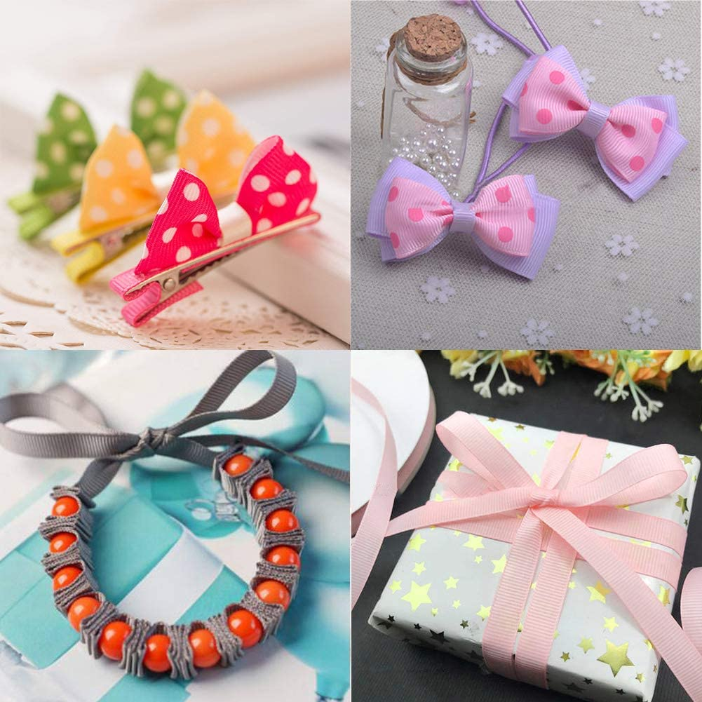 Ways to style Grosgrain Ribbon