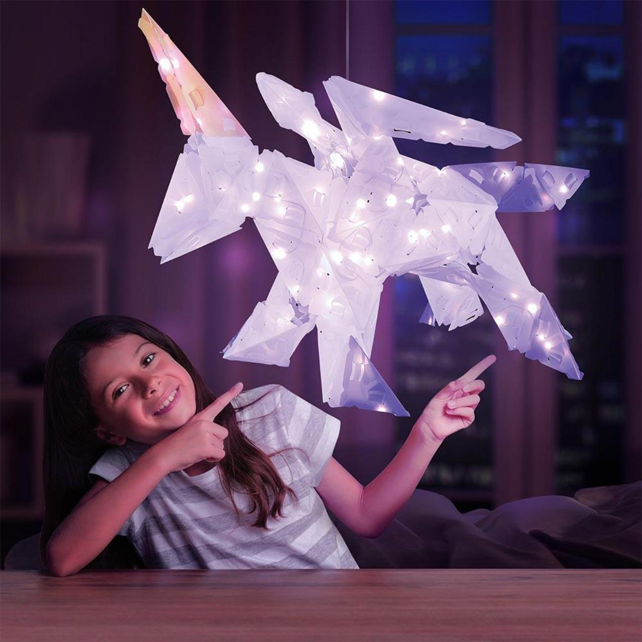 Giveaway 3D Sparkle Unicorn Lights
