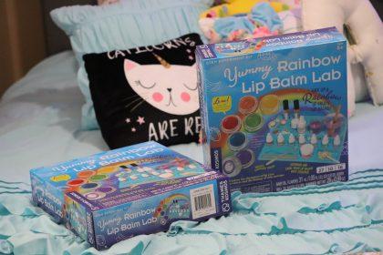 Giveaway Rainbow Lip Balm Kit