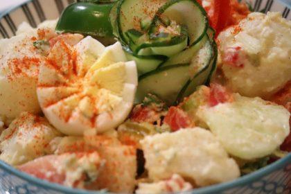 Mealtime Vegetable Loaded Potato Salad