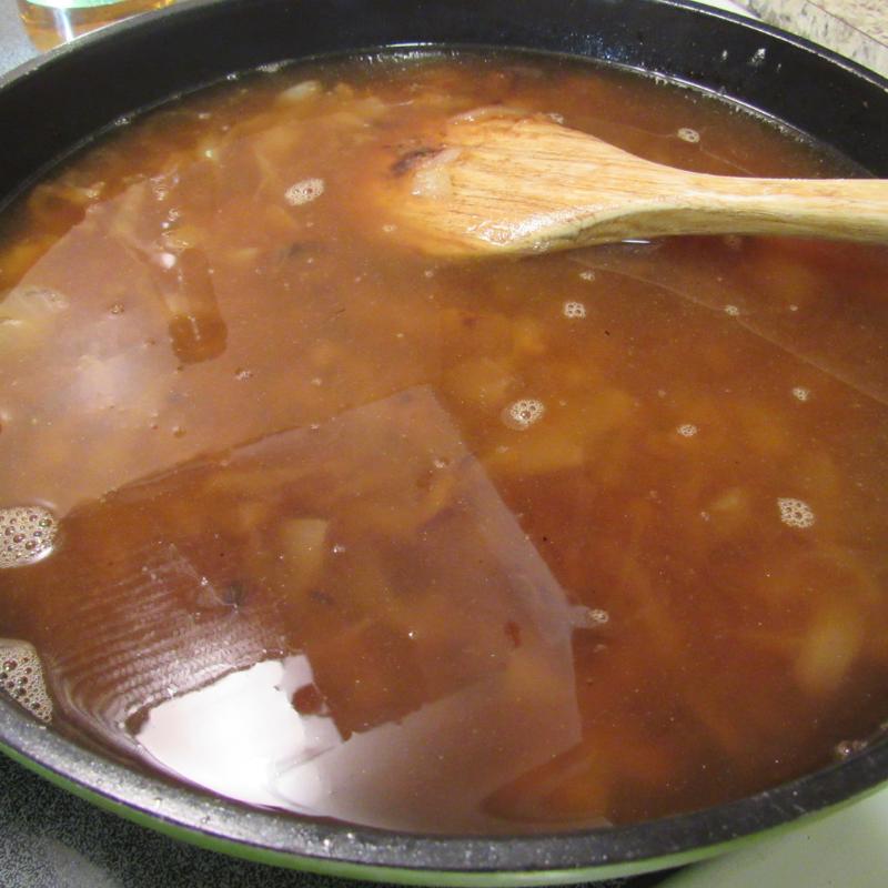 Freezer French Onion Soup Recipe Tutorial