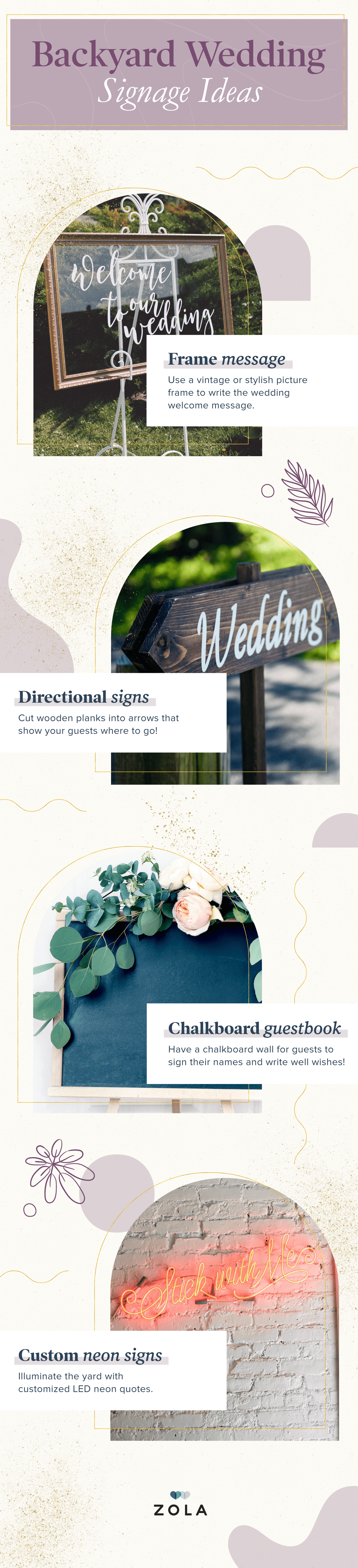 Backyard Wedding Ideas for the DIY Bride