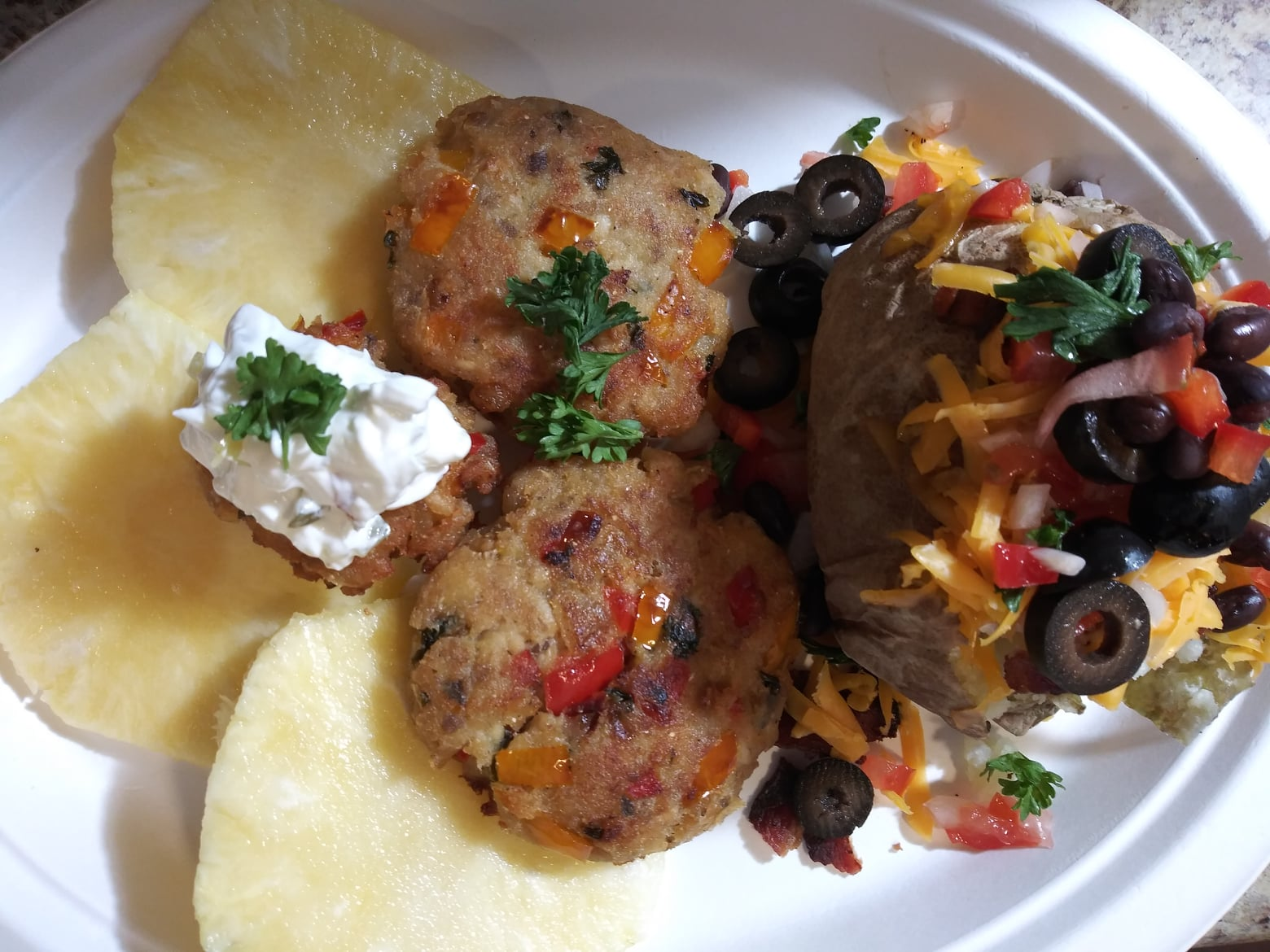 Salmon and Veggie Patties Recipe