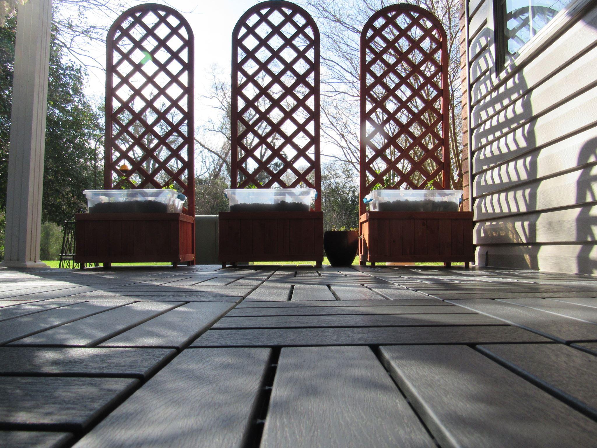 D.I.Y. Ikea Interlocking Floor Tiles project