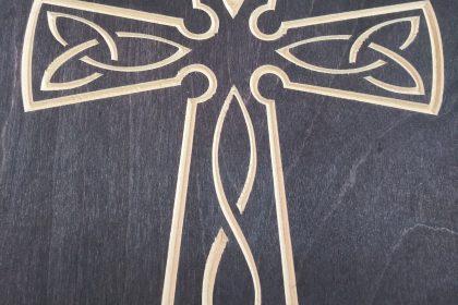 Celtic Cross Décor From True Stock Studios