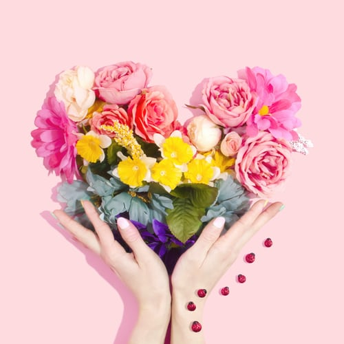 The Power of Flowers in Reducing Stress